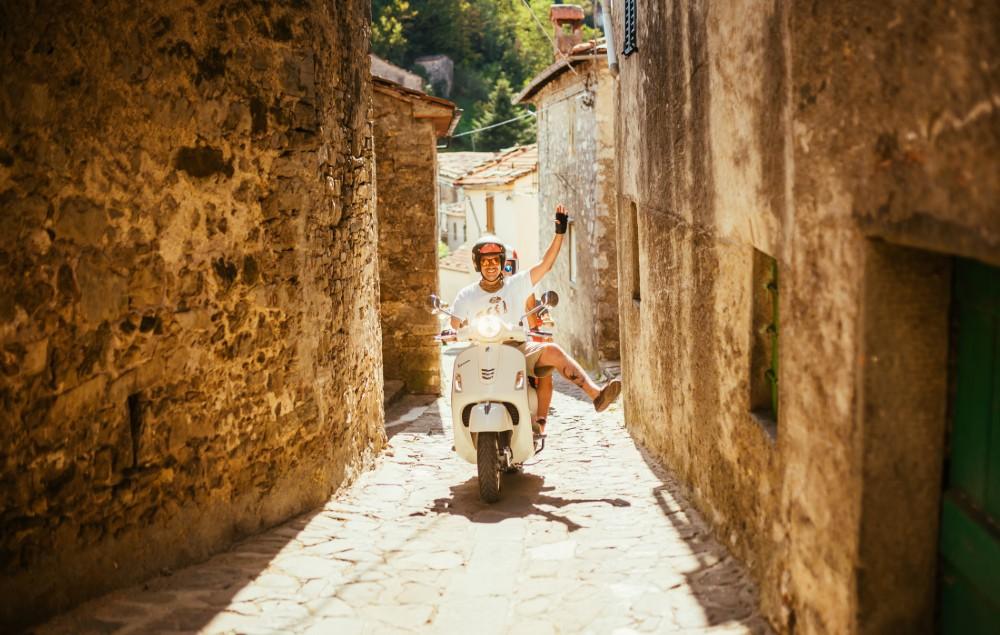Picture of the Vespa Trip in Giro